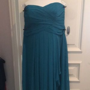 Davids Bridal W10840 Oasis Bridesmaid Dress SZ 18!